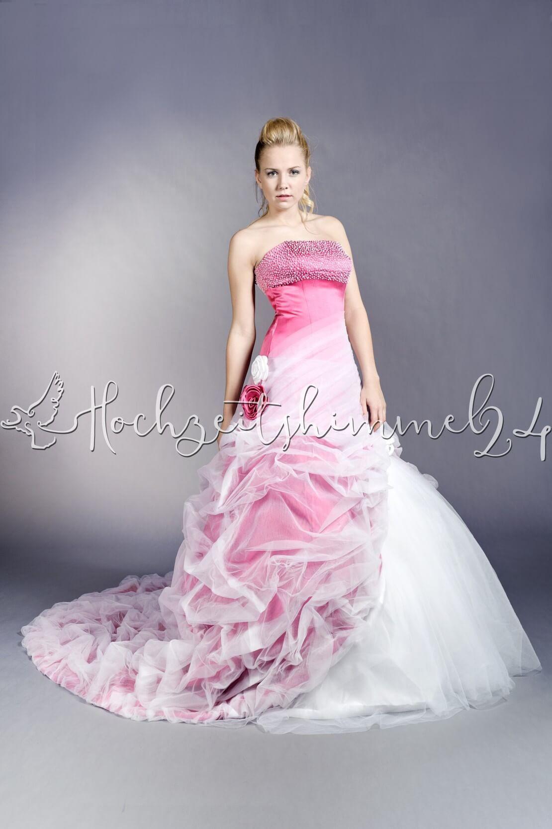Hochzeitskleid Pink | Hochzeitskleid2019 | Strapless Dress