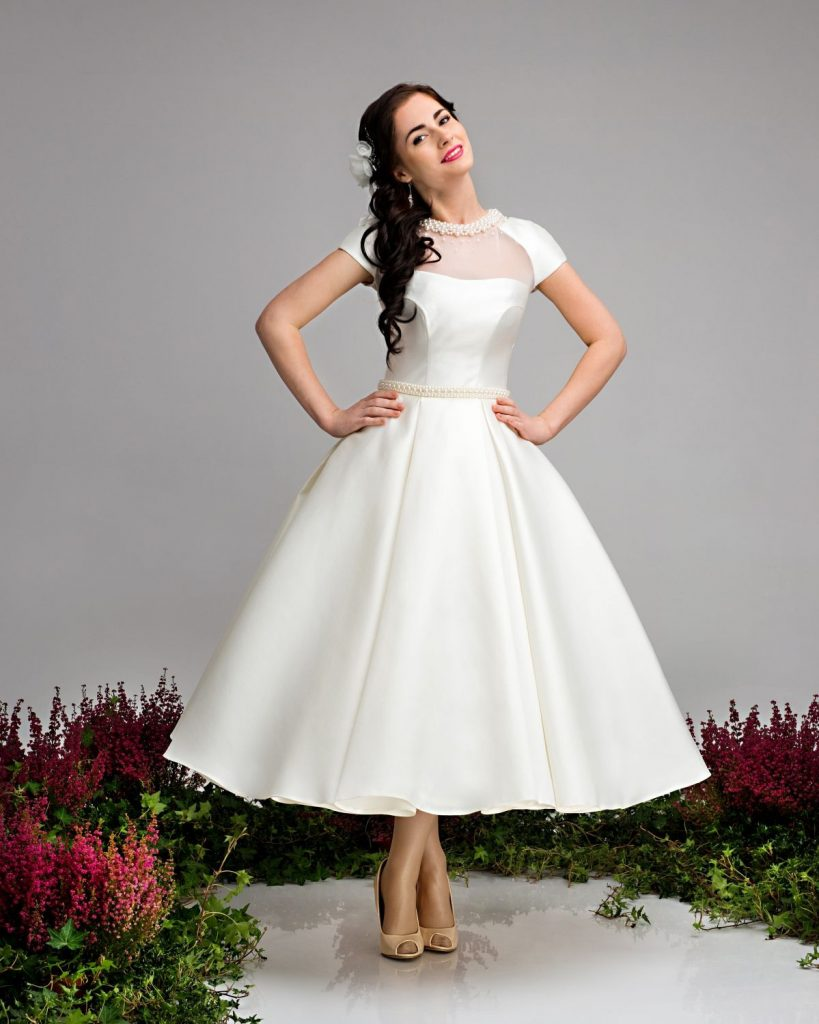 Hochzeitskleid Rockabilly  Hochzeitskleid Rockabilly - Abendkleid