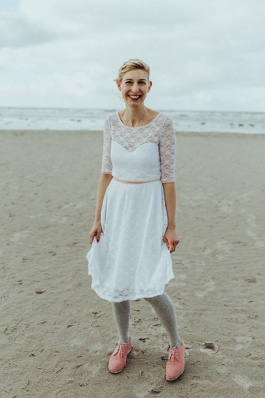 Hochzeitskleid Selber Nähen Für Die Standesamtliche Hochzeit