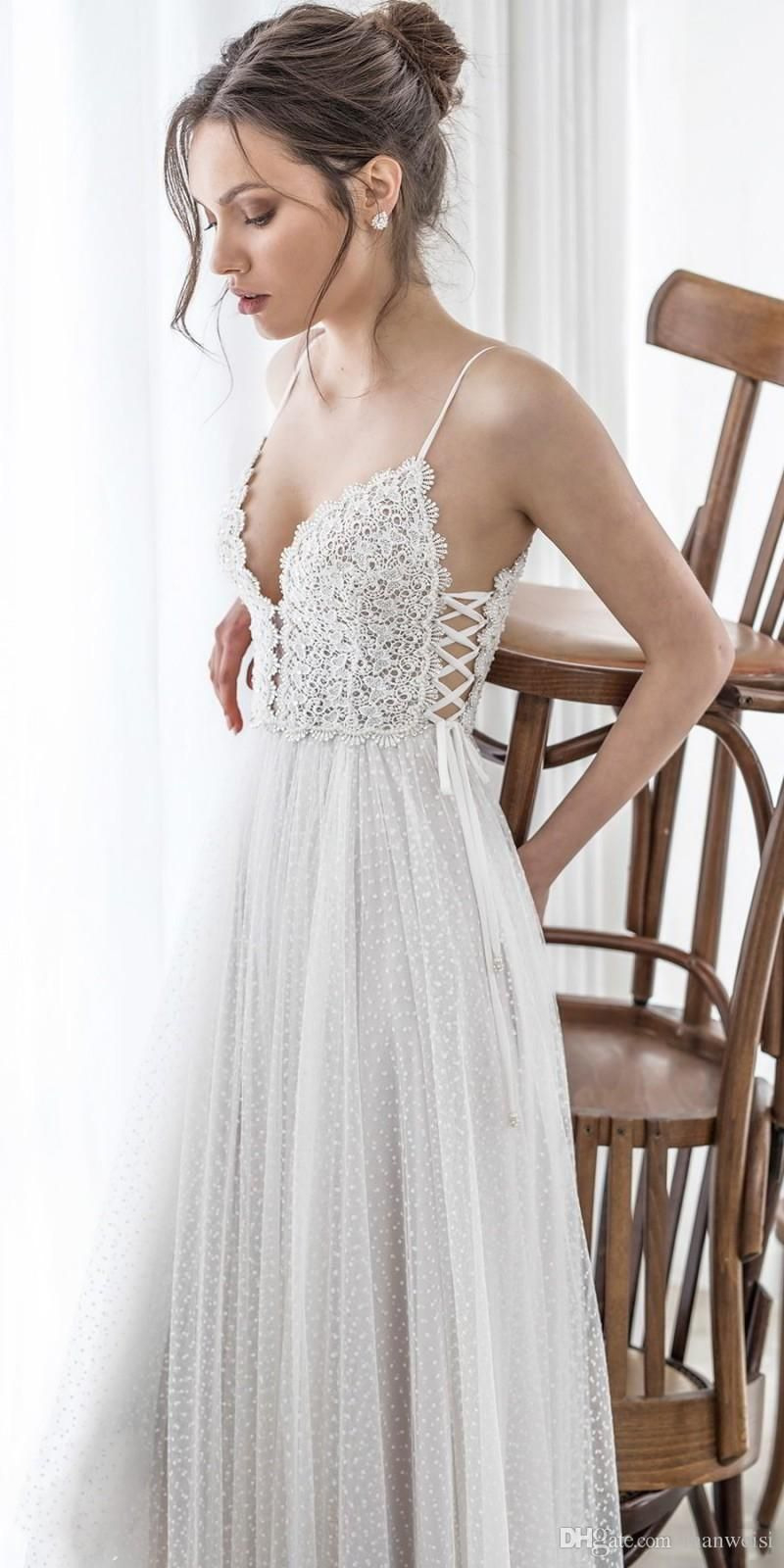 Hochzeitskleid Strand  Hochzeitskleid Strand - Abendkleid