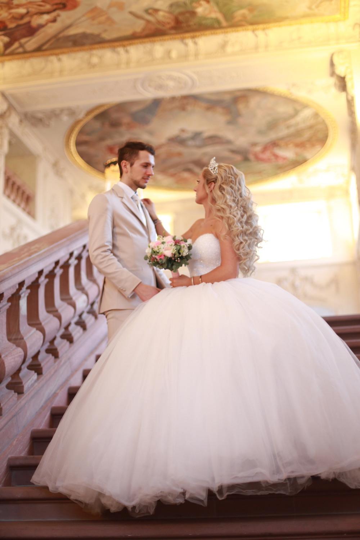 Ihochzeitsfrisur – Mannheim Hochzeit – Brautstyling