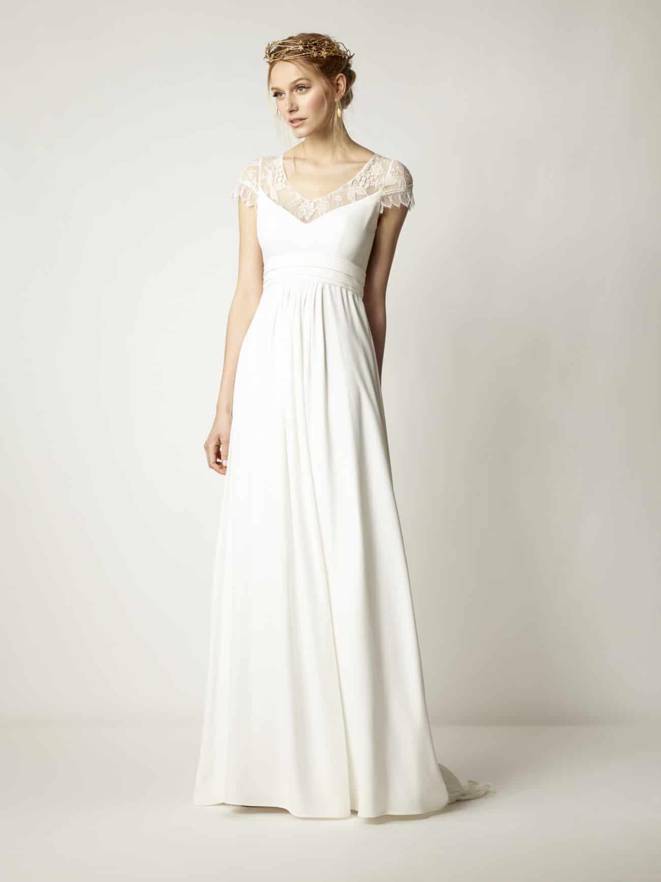 Im Empire Brautkleid Zur Göttin Für Einen Tag - Heiraten
