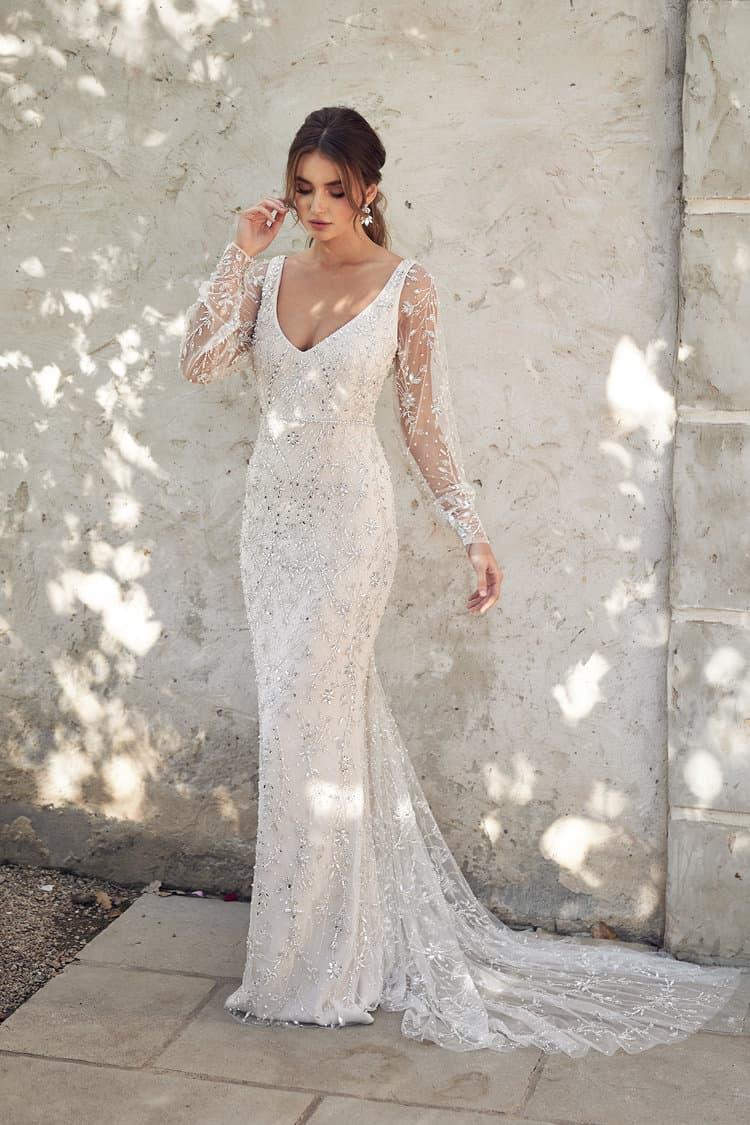 Indigo Fitted | Italienische Hochzeit, Brautkleid