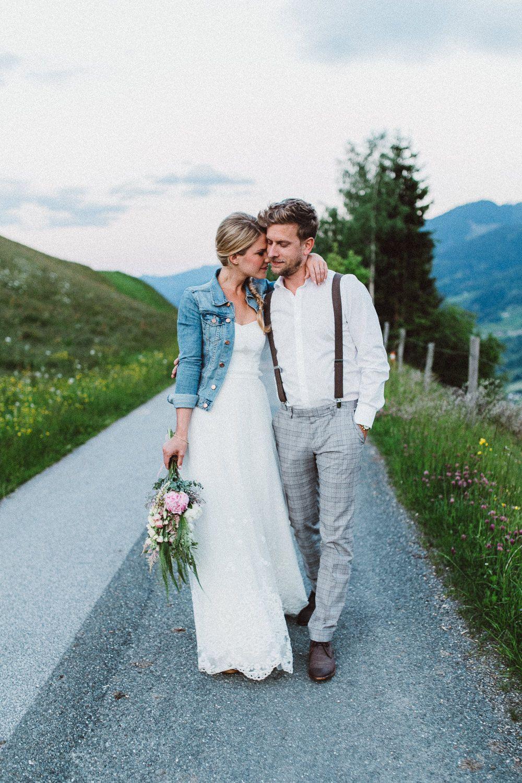 Intimate Wedding Austria // Hochzeitsfotograf Zell Am See