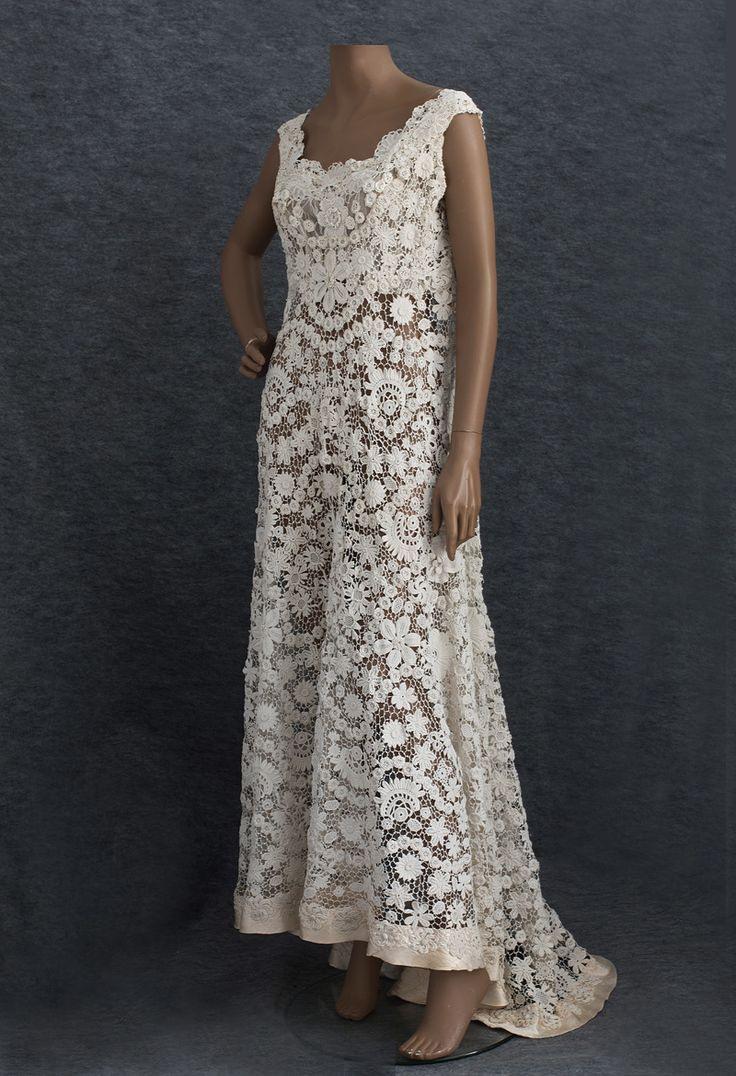 Irisch Crochet Dress | Hochzeitskleid Häkeln