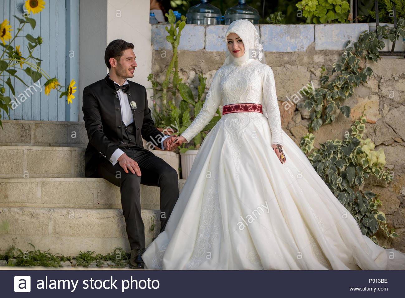 Islamische Hochzeit Stockfotos & Islamische Hochzeit Bilder
