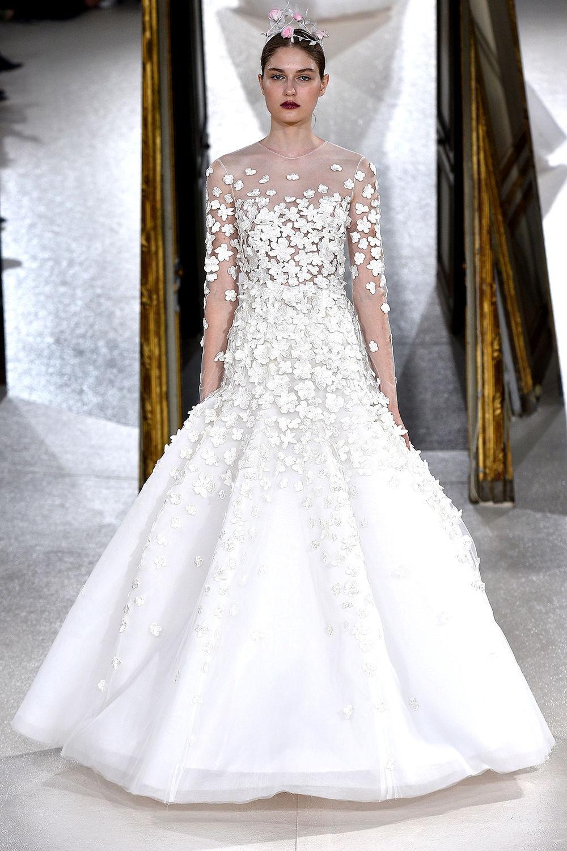 """Kaviar Gauche Bridal Couture: """"la Vie En Rose"""" - Glamour"""