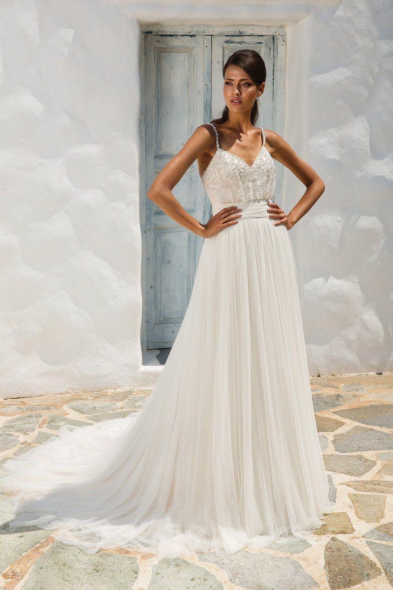Klassische Designer-Hochzeits-Kleider Mit Raffinierter