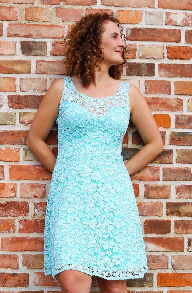 Kleid Aus Spitze Für Eine Hochzeit Nähen - Ella Von ...