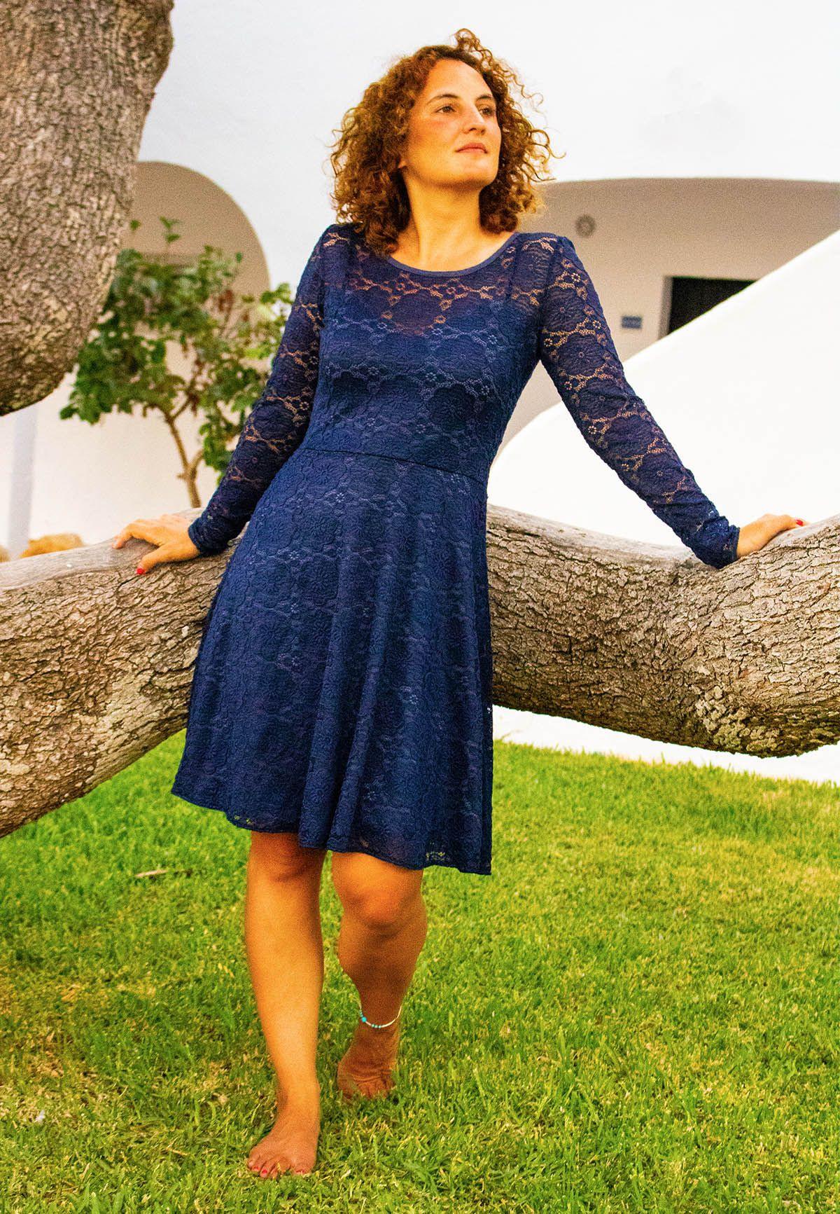 Kleid Ella / Pattydoo Aus Spitze Für Die Hochzeit Nähen