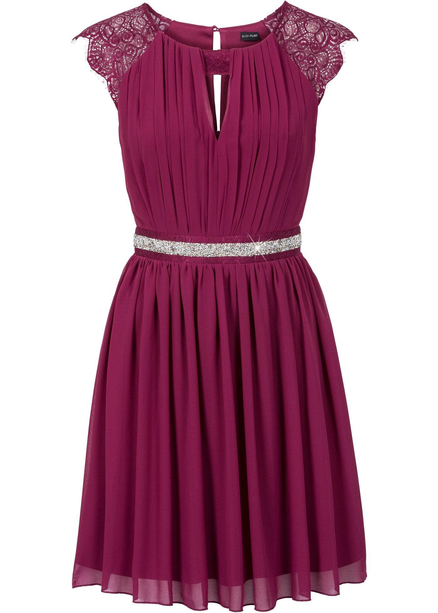 Kleid Mit Spitze Beere - Bodyflirt Jetzt Im Online Shop Von