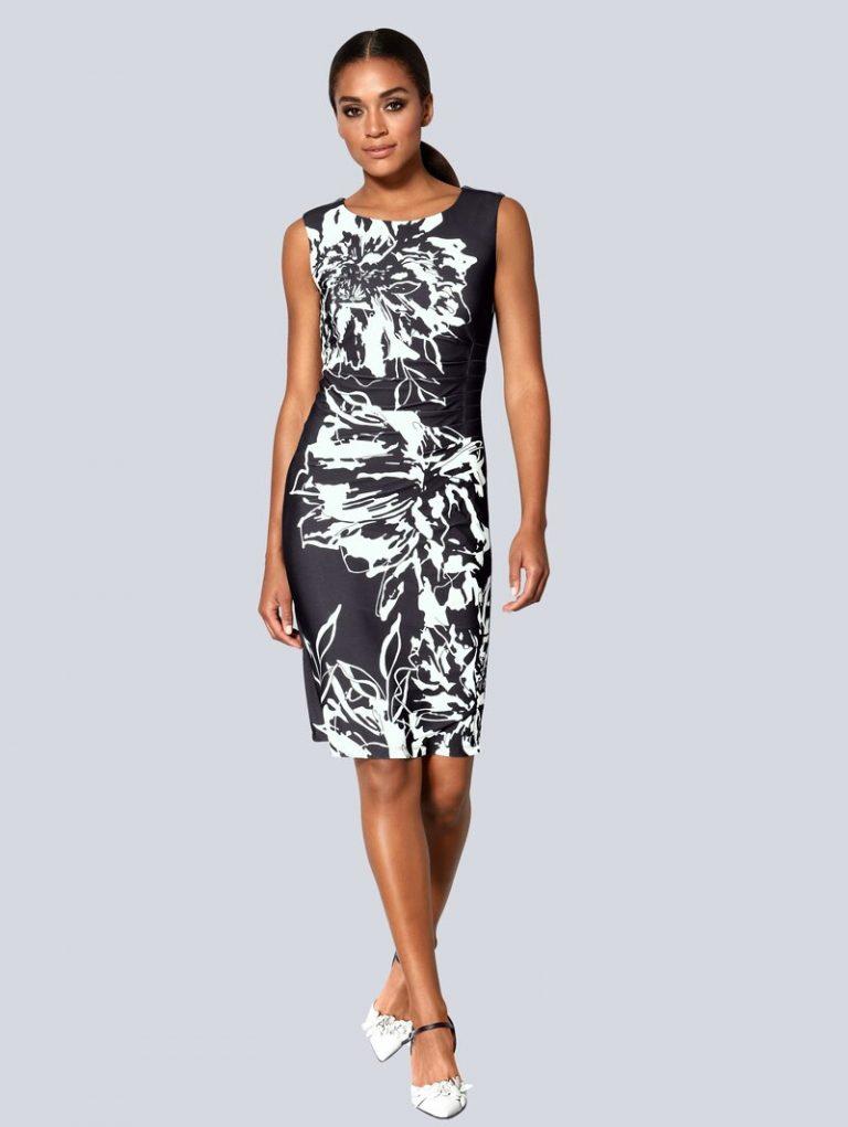 kleider alba moda schwarz::weiß online kaufen | stylesoul
