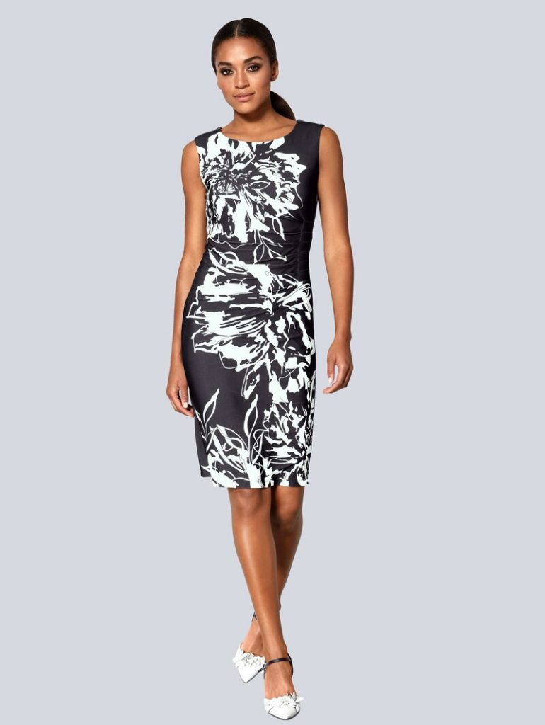 Kleider Alba Moda Schwarz::weiß Online Kaufen  Stylesoul - Abendkleid