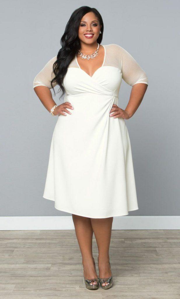 Größen kleider trauung für standesamtliche große Outfit Hochzeit