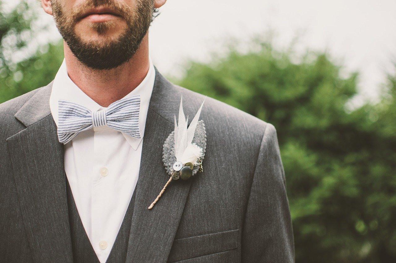 Kleidung Für Den Bräutigam Bei Der Standesamtlichen Hochzeit
