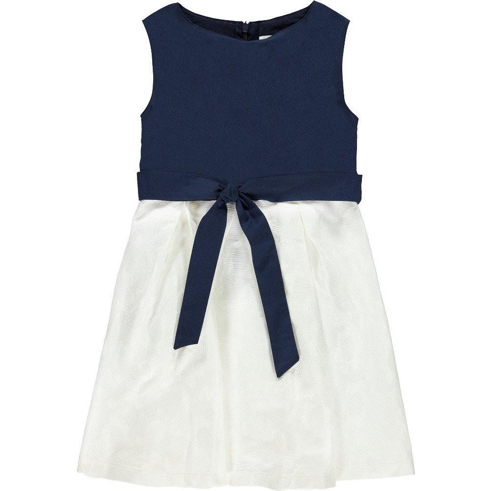 königsmühle festliches kleid weiß-blau - kilenda - abendkleid