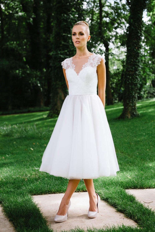 Kurze Brautkleider Aus Der Küssdiebraut Kollektion 2017