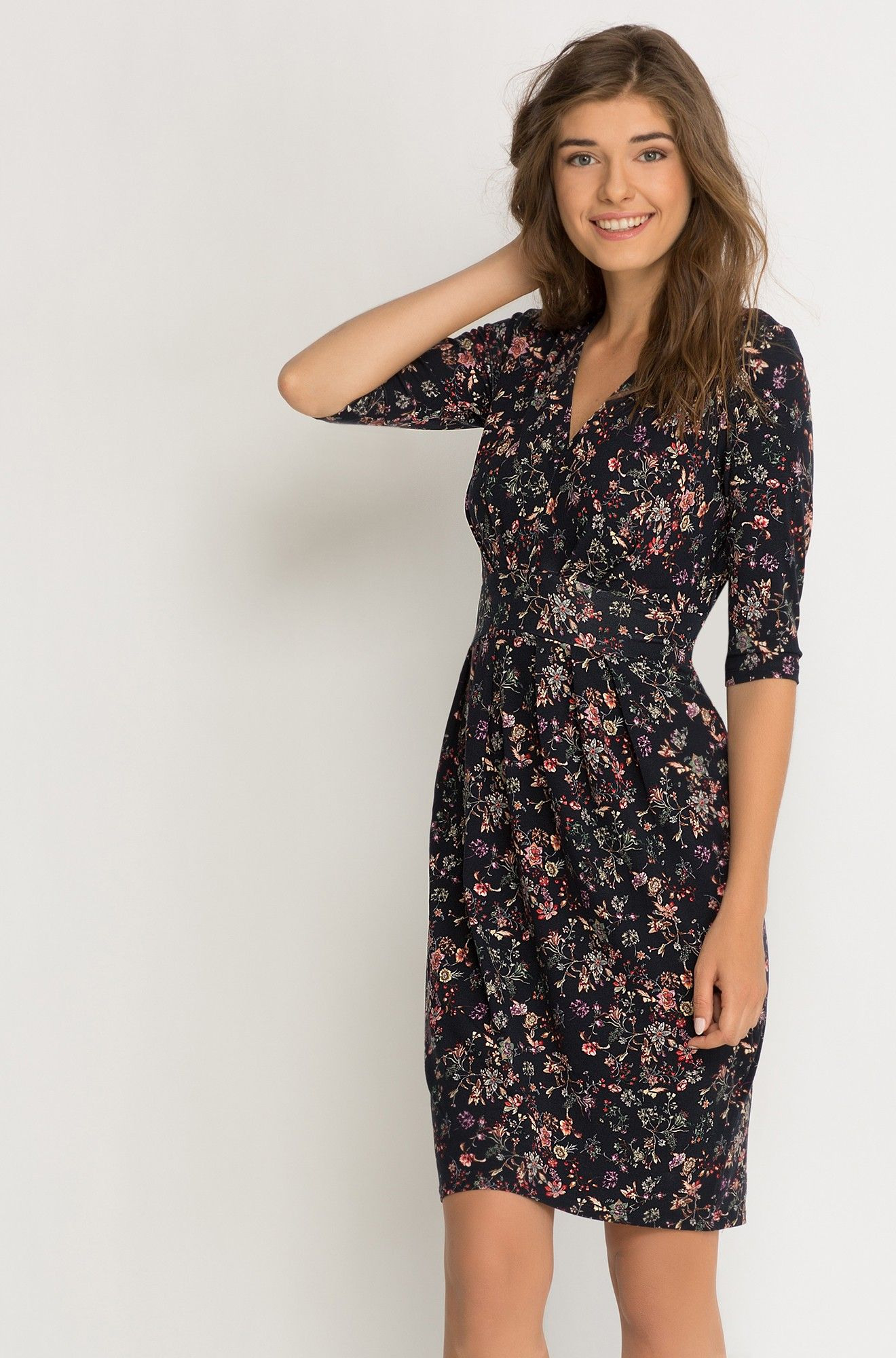 Květované Šaty S Překřížením A   Orsay   Šaty