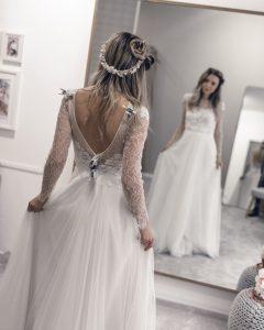 La-Donna-Schierling-Vintage-Boho-Brautkleid-Hochzeitskleid