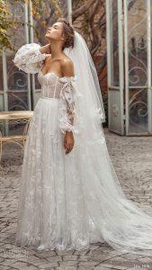 """Lihi Hod Herbst 2020 Brautkleider — """"weiße Blüte"""" Bridal"""