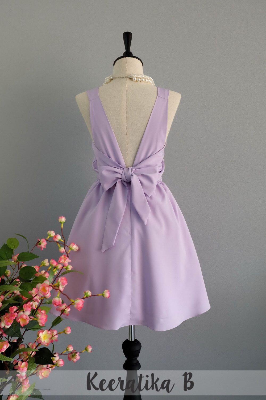 Lilac Dress Purple Bridesmaid Dress Wedding Prom Dress