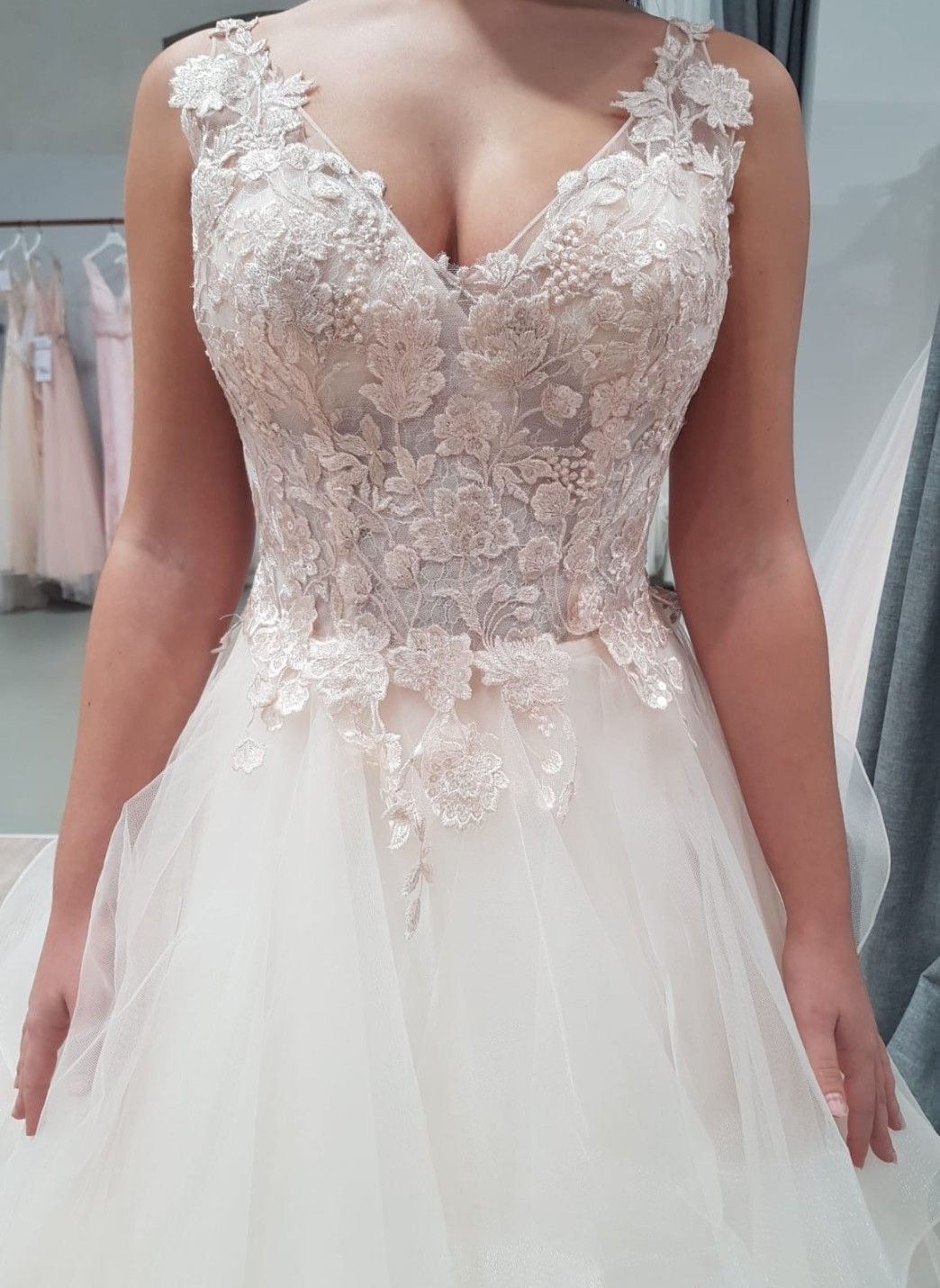 Kekehouse® Lang Tüll Hochzeit Fest Mädchen Kleid ...