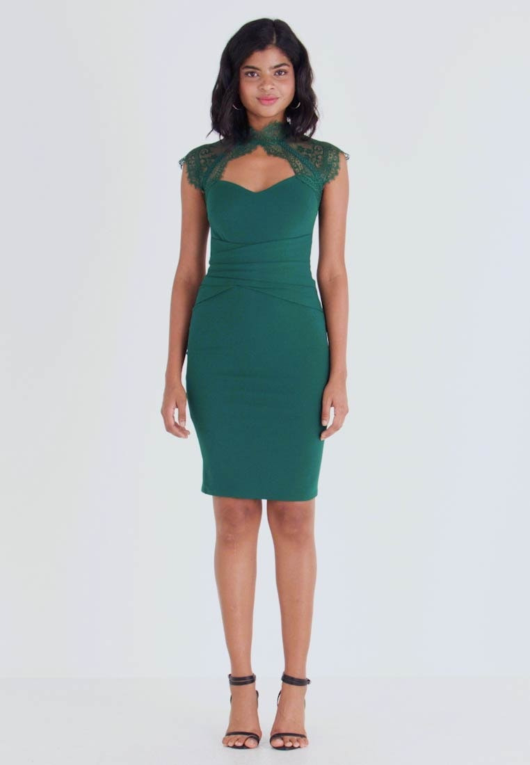 Lotti - Cocktailkleid/festliches Kleid - Emerald Green