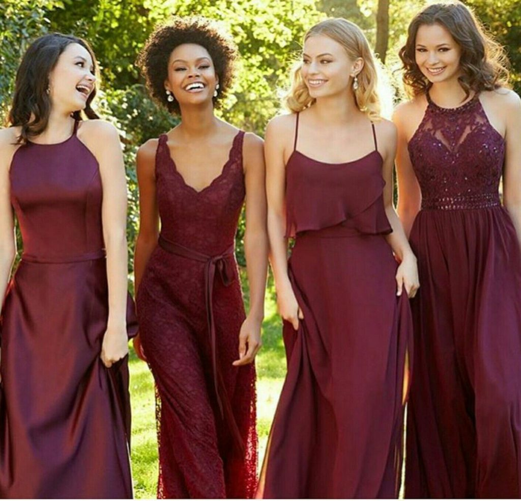 Love The Different Dresses! #bridesmaids  Trauzeugin Kleid