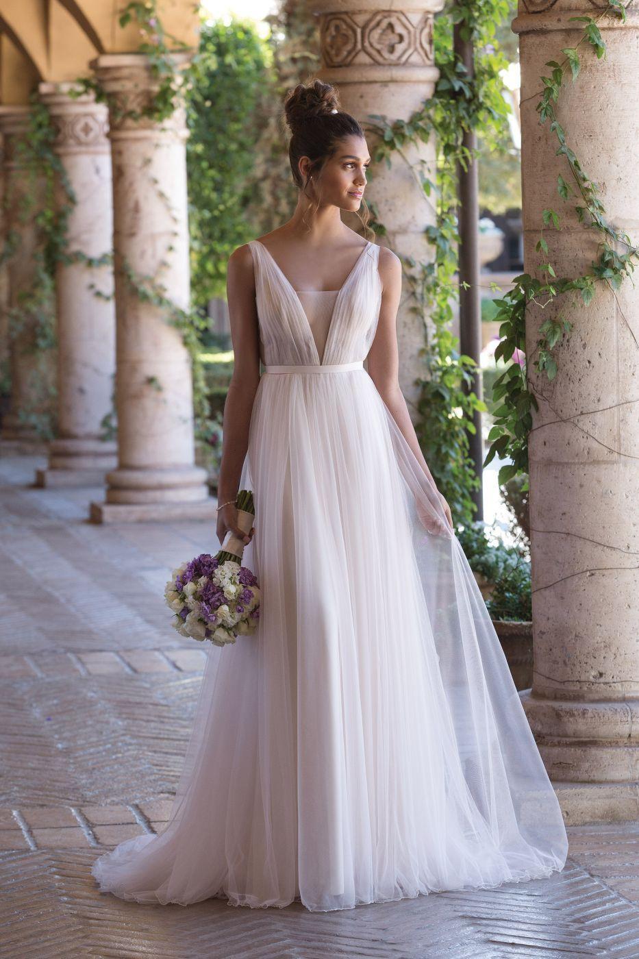 Luftig Leichtes Brautkleid Von Sincerity #boho #vintage