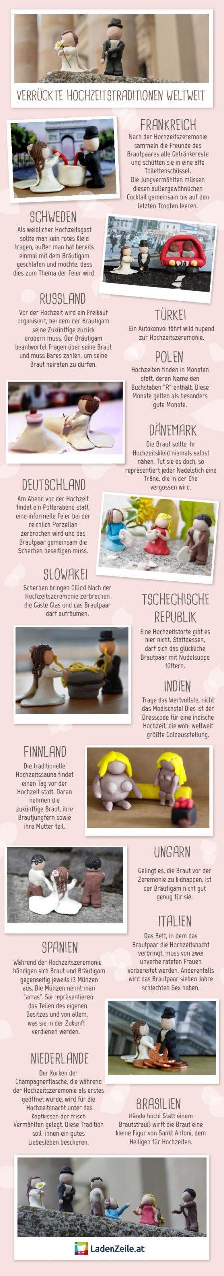 Lustige Hochzeitsbräuche Weltweit • Woman.at