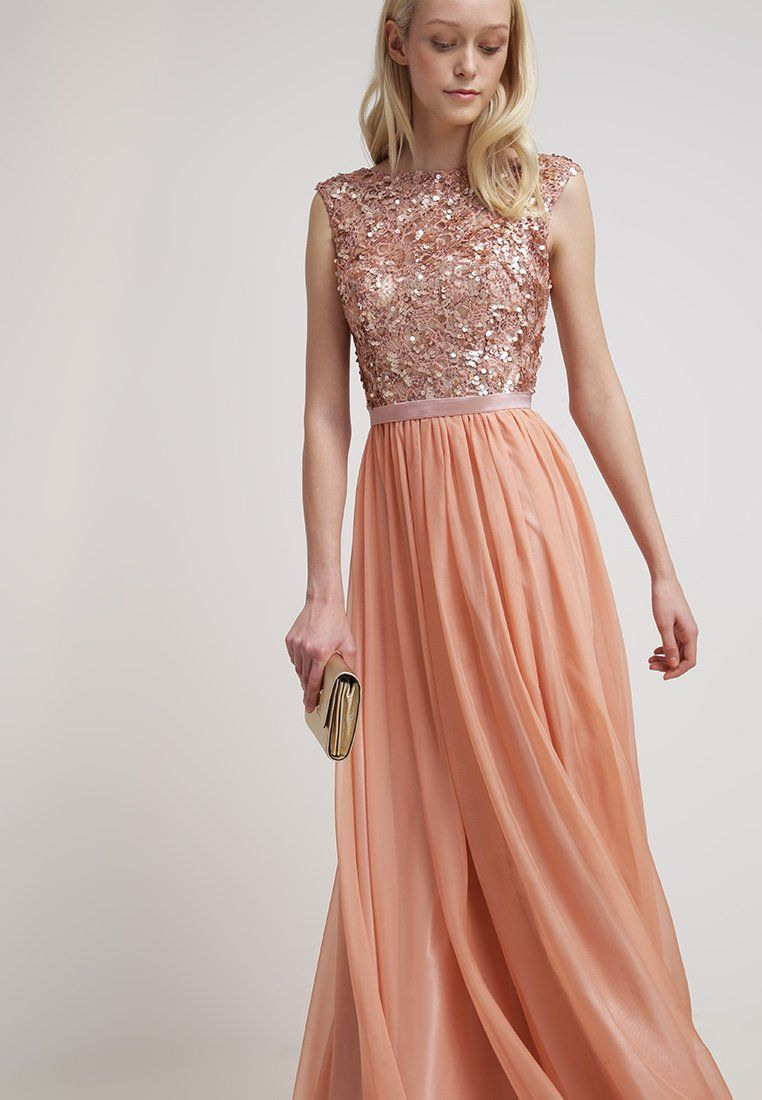 Luxuar Fashion Ballkleid - Apricot - Zalando.de   Lange - Abendkleid