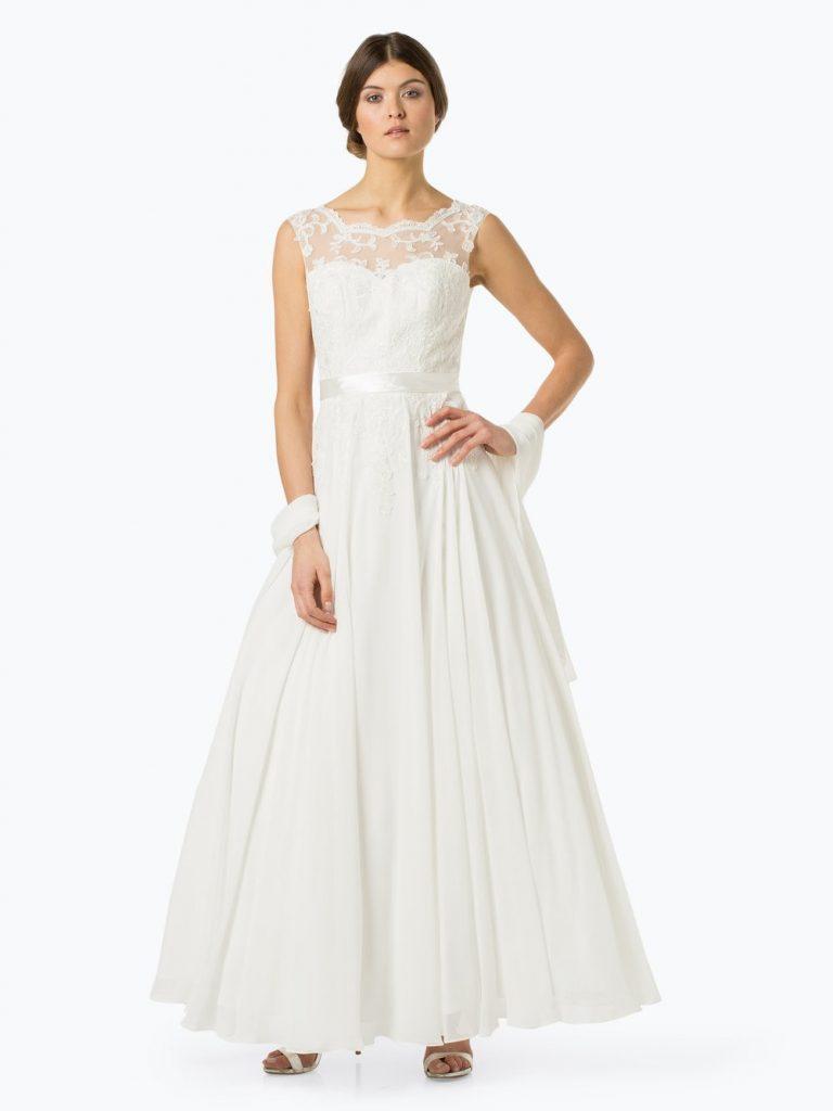 Luxuar Fashion Damen Abendkleid Mit Stola Online Kaufen - Abendkleid