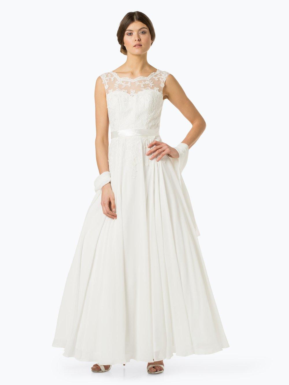 Luxuar Fashion Damen Abendkleid Mit Stola Online Kaufen
