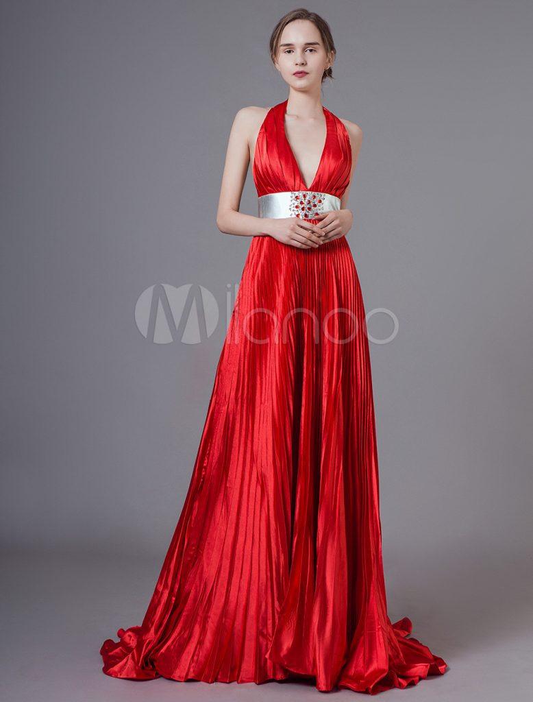 Luxus Rote Kleider Galerie - Abendkleid