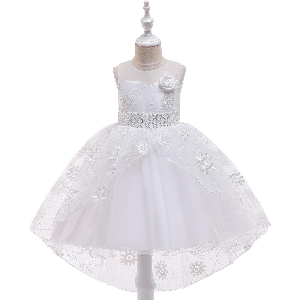 Mädchen Kleider Kinderkleidung Hochzeit Events Blumenmädchen Kleid  Geburtstag Party Kostüme Kinderkleidung 4-13 Jahre Alt