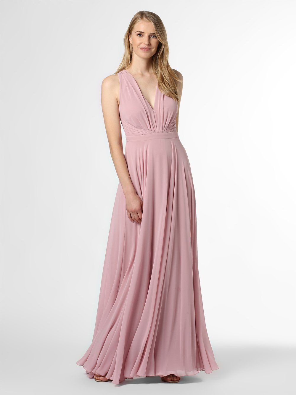 Marie Lund Abendkleid Rosa | Abendkleid, Abendkleid Rosa