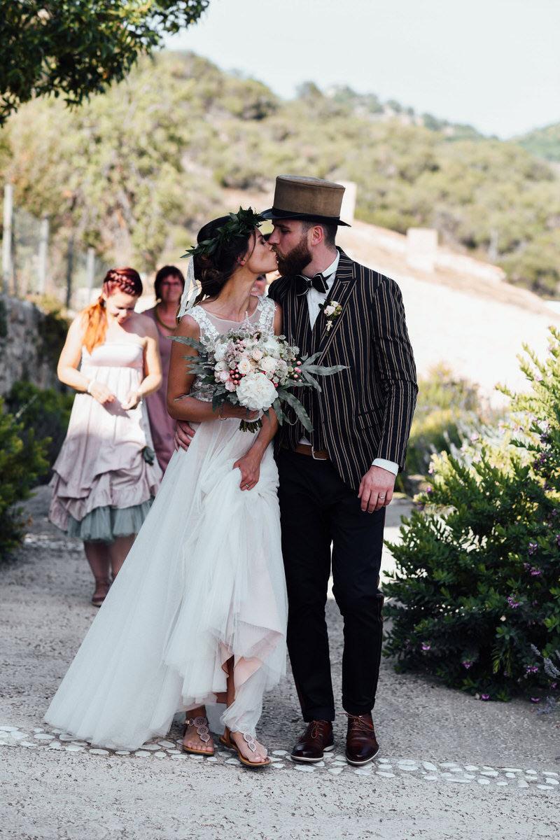 Boho Chic Hochzeit Kleid - Abendkleid Klein