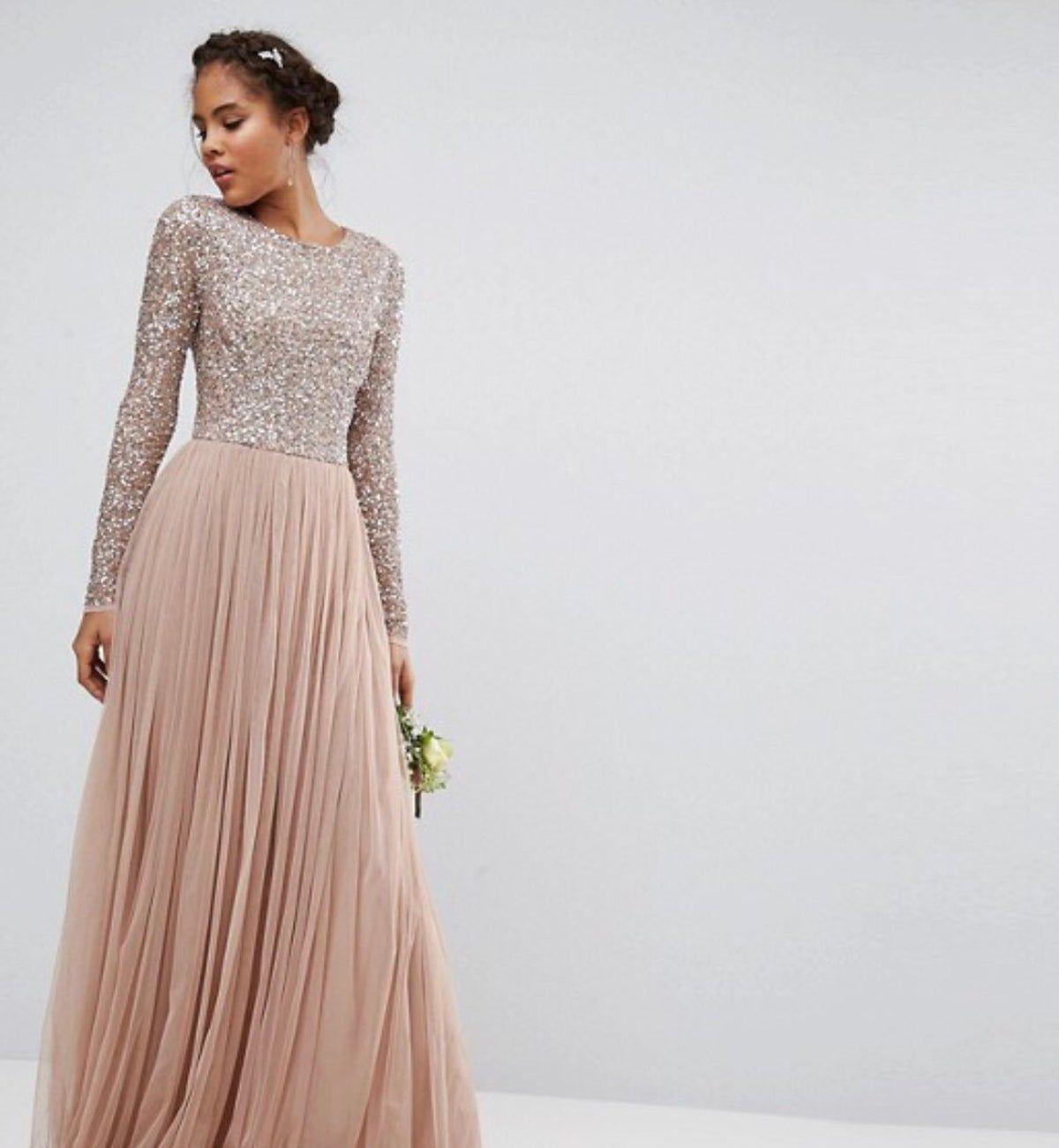 Maxi Dress #kleid Pastell | Asos Kleider Hochzeit, Abiball