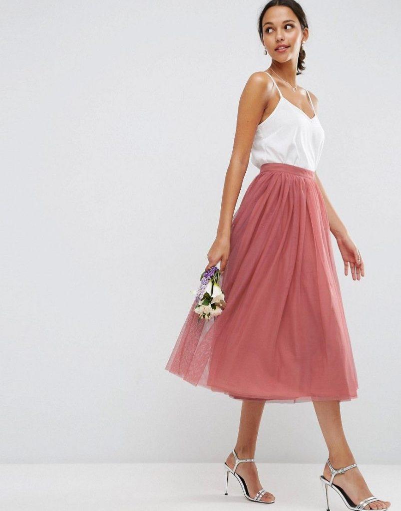 Mehrlagiger Ballrock Aus Tüll  Hochzeit Kleidung, Kleid - Abendkleid