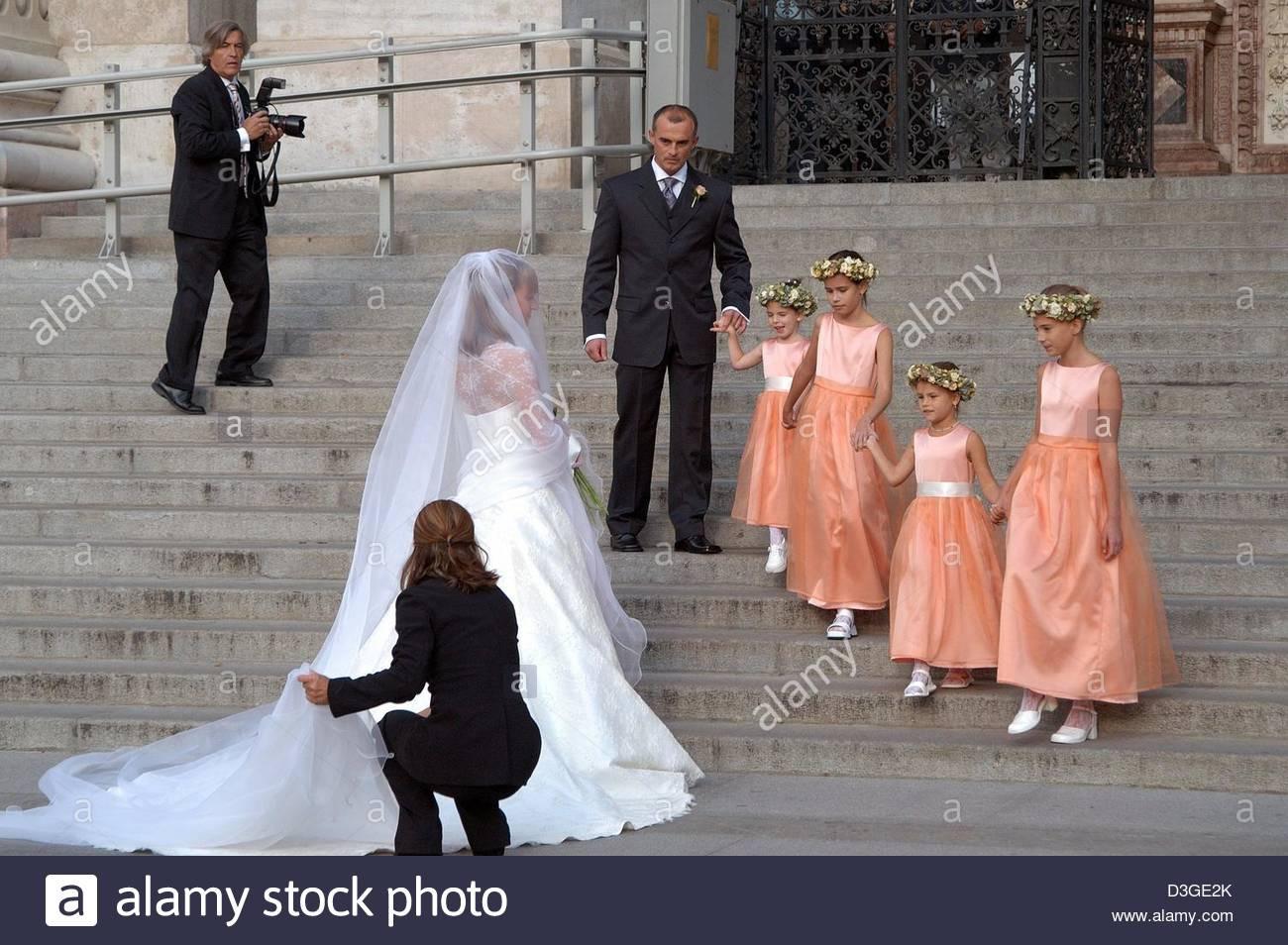 Menschliches Interesse Brummeln Prominente Leute Hochzeit