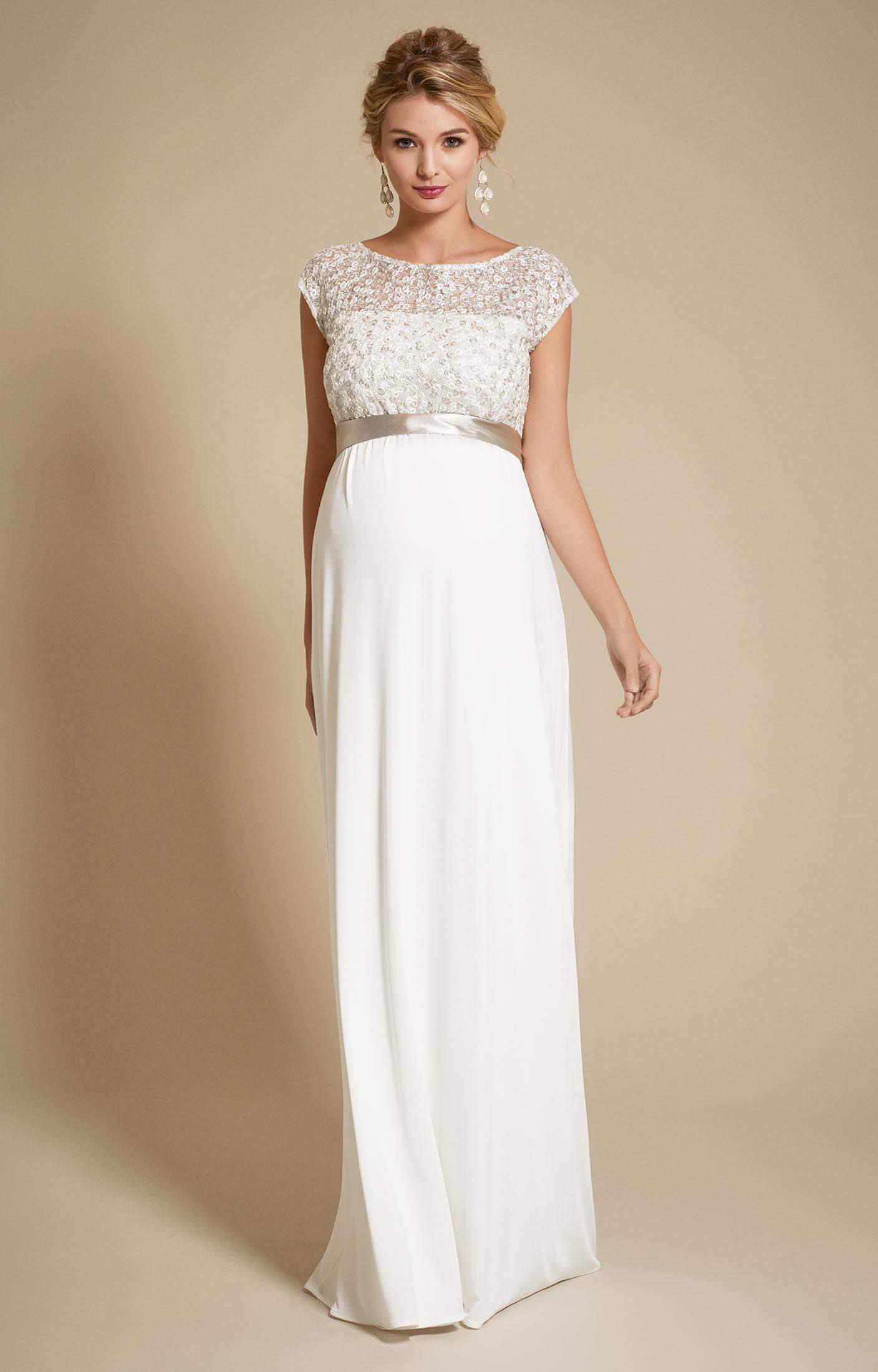 Mia Umstands Brautkleid In Elfenbein - Abendkleid