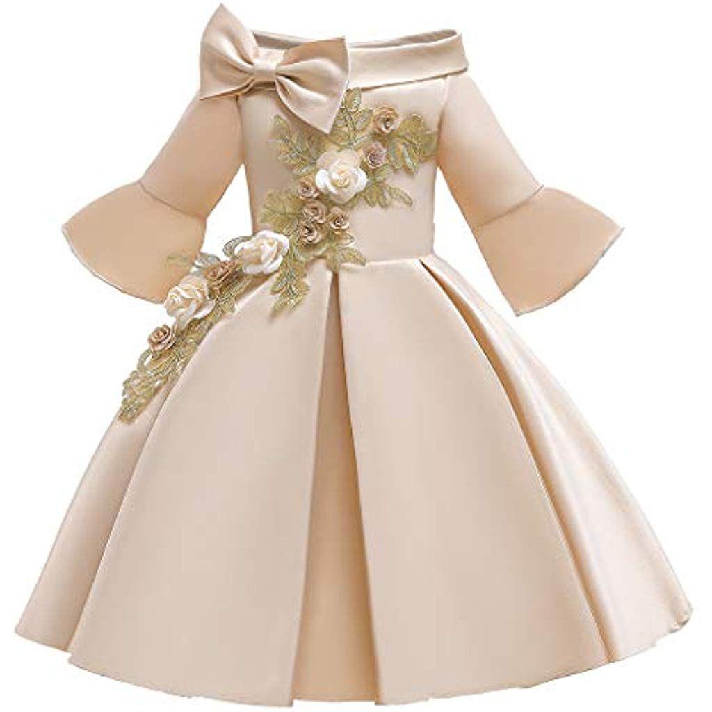 details zu kinder mädchen prinzessin kleid hochzeit