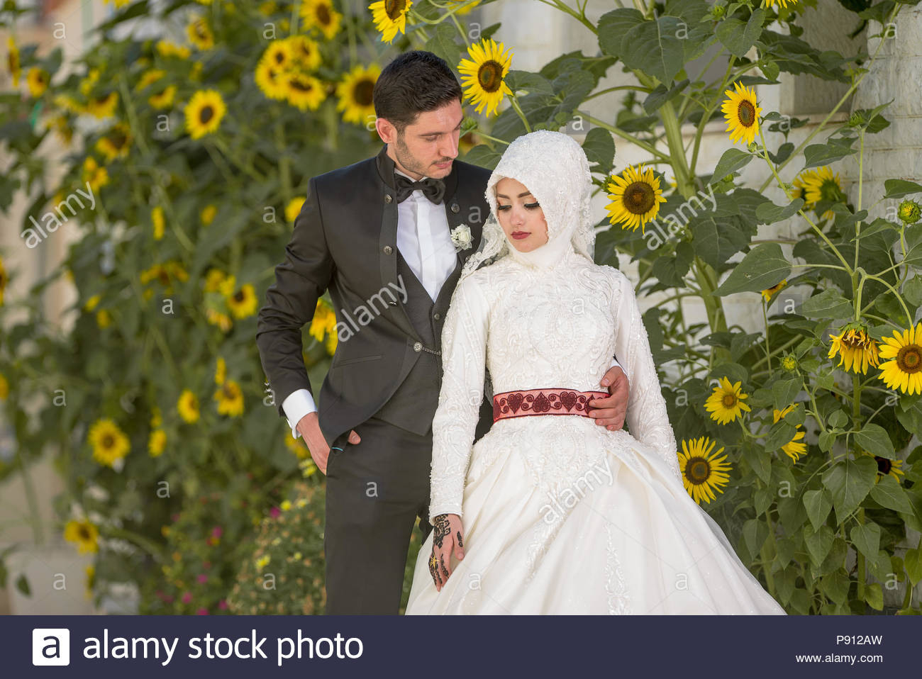 Muslimische Hochzeit Stockfotos & Muslimische Hochzeit