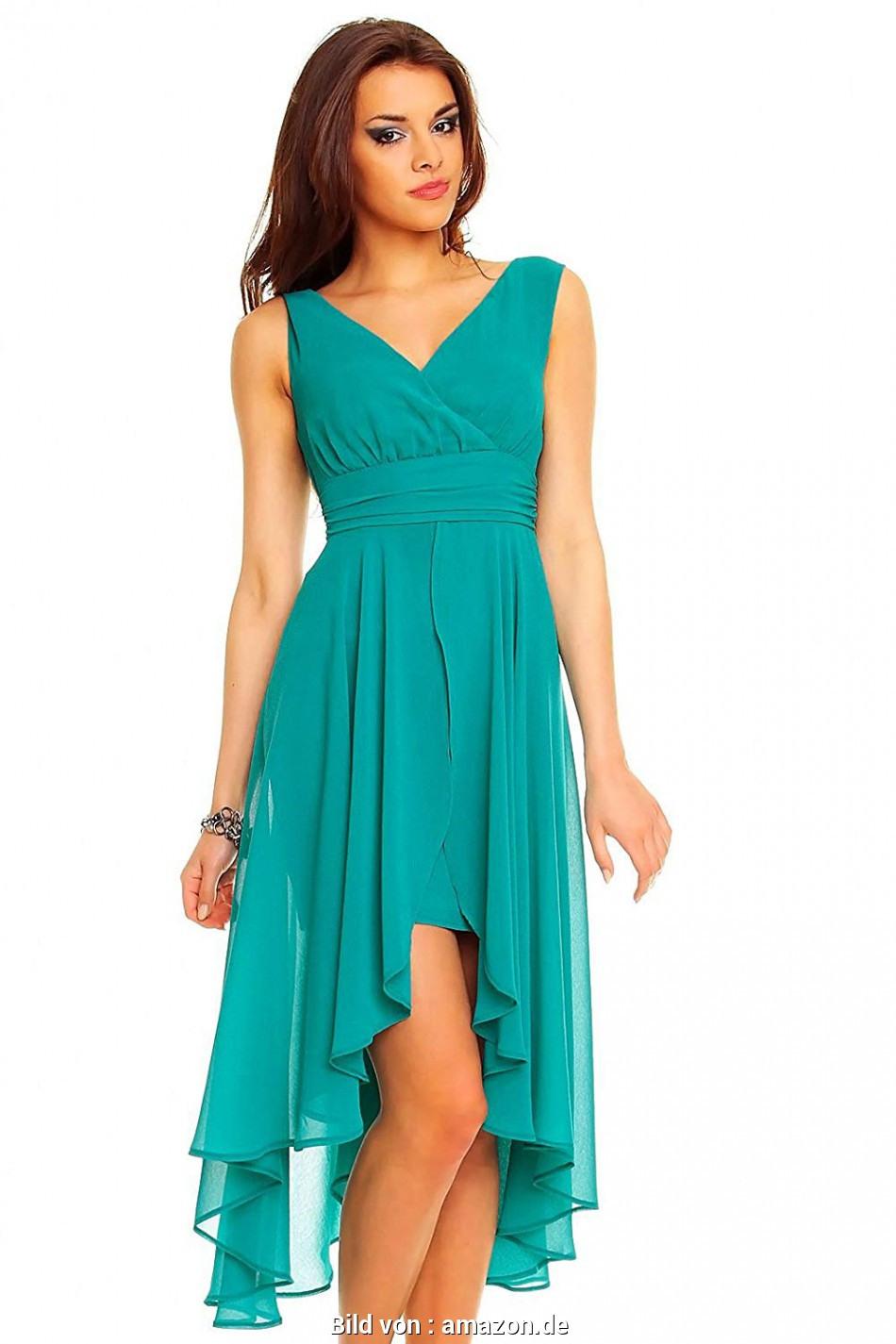 Natürlich Chiffon Kleid Grün - Munidwyn