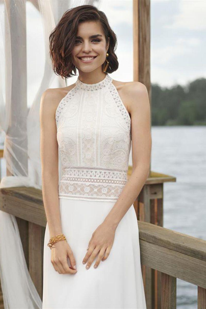 Kleid Neckholder Hochzeit - Abendkleid