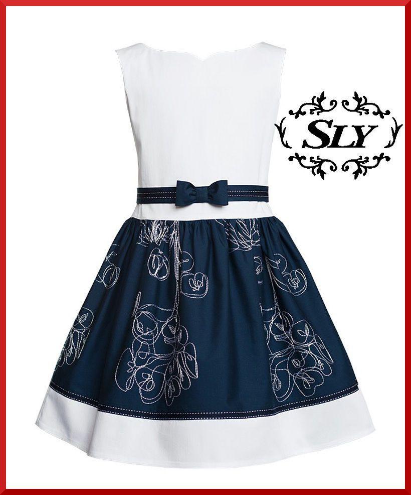 Neu New Sly Elegantes Mädchen Kleid Festlich Party Hochzeit