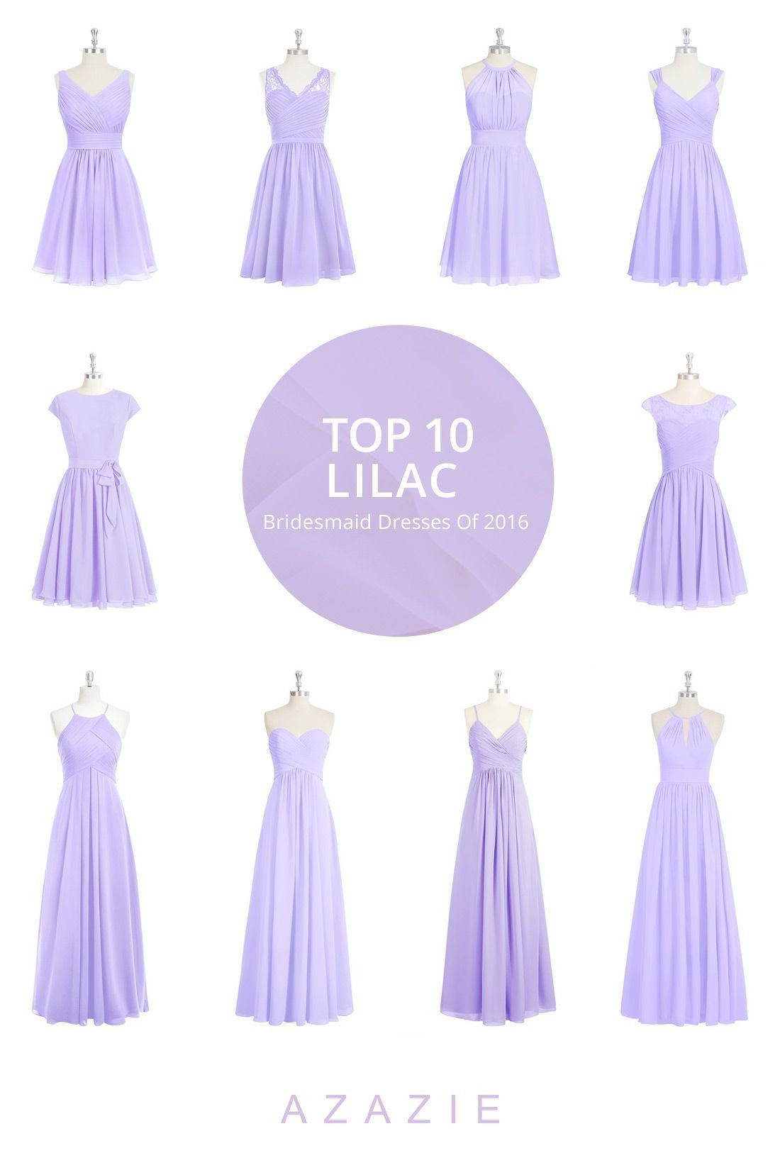 Nice Lilac Bridesmaid Dresses 15 Best Outfits