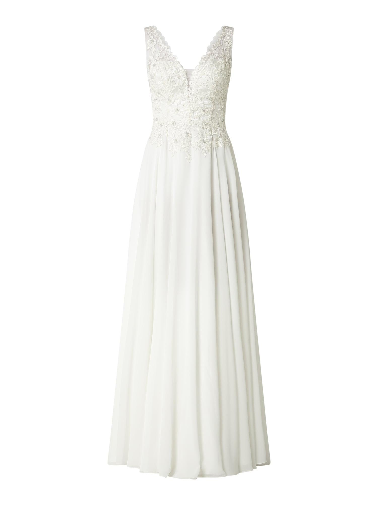 Niente Brautkleid Mit Zierperlen In Weiß Online Kaufen (1007355) ▷ P&c  Online Shop