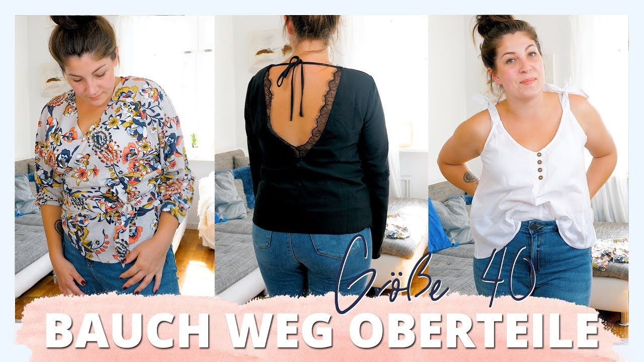 Oberteile, Die Den Bauch Kaschieren | Größe 40, After Baby Bauch |  #kleinundkurvig