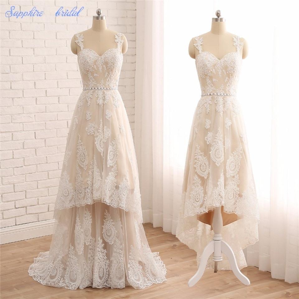 Online-Shop Sapphire Braut Vestido De Noiva Champagner
